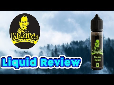 YouTube Video zu Mr. Niks Freaky Melon Longfill Aroma 10 ml für 60 ml