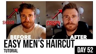 Hmongbuynet DO IT YOURSELF MENs HAIR CUT TUTORIAL QUICK EASY - How to cut men's hair by myself