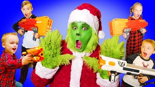 Grinch The Movie! Kids Fun TV and the Fun Squad!