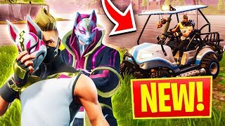 FORTNITE SEASON 5 - GOOD OR BAD? FIRST GAME REACTION!!