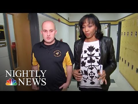 Skateboarding Principal Takes New Approach To Motivate Students | NBC Nightly News