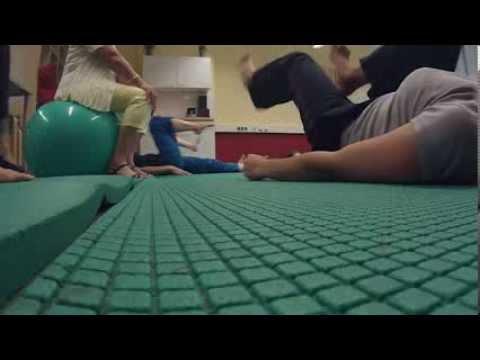 Das Training mit dschilian majkls stürze das überflüssige Gewicht