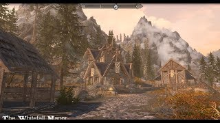The Whitefall Manor - Skyrim Special Edition House Mod