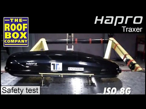 Hapro roof boxes - safety film