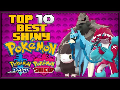 Top 10 Best Shiny Pokémon in Pokémon Sword and Shield | All Shiny Legendary Pokémon