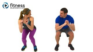 Quick Sweat Cardio Burst - Fast Fat Burning Cardio Workout with Kelli & Daniel by FitnessBlender