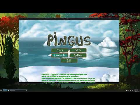 Pingus | Free & Open Source Game! | Game Review