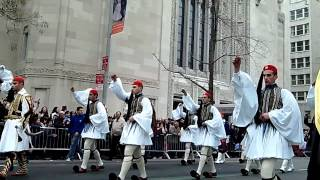 Greek Independence Parade~NYC~2012~Presidential Guards Evzones~NYCParadelife