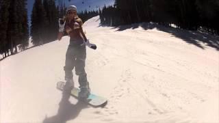 Calendar Girls Snowboarding