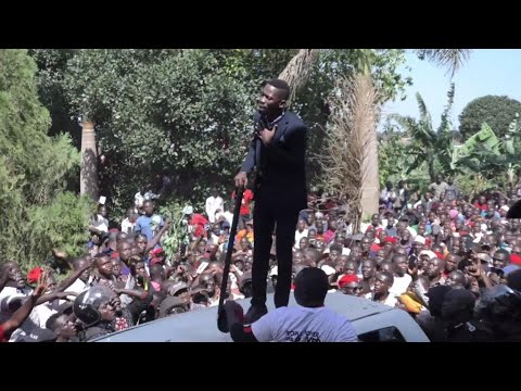 Uganda's Bobi Wine returns home