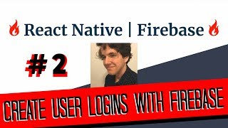 React Native - Firebase Authentication Tutorial | #2 Creating an API for Firebase