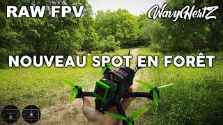 FPV Freestyle chill sur un nouveau spot en Forêt