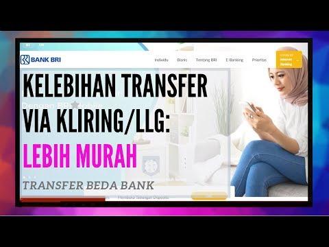 Cara Transfer Uang Menggunakan Internet Banking BRI (Beda Bank)