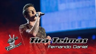 Fernando Daniel – Dancing on my own | Tira-Teimas | The Voice Portugal