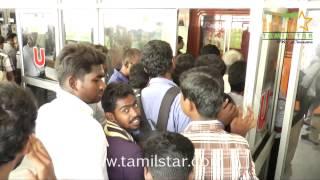 Fans Celebrates Madras Release