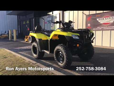 2020 Honda FourTrax Rancher 4x4 Automatic DCT EPS in Greenville, North Carolina - Video 1