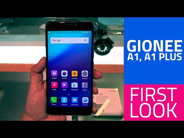 Gionee A1 Plus Selfie-Centric, Big Battery Phone Launched in
