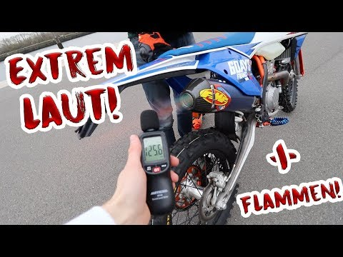 Neuer FMF Titan Auspuff für die KTM EXC!