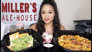 MILLER'S ALE HOUSE AND COLD STONES MUKBANG