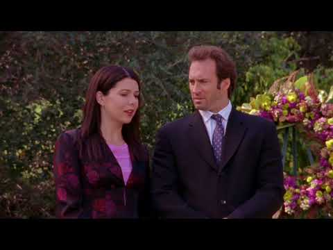 Gilmore Girls: Luke and Lorelai S2 E17l Dead Uncles and Vegetables