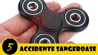 5 Accidente Stupide Si Dureroase Provocate De Fidget Spinner | Nu Incercati Asta Acasa