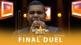 "Andmesh Kamaleng ""Show Me The Way Back To Your Heart"" I Final Duel 1 I Rising Star Indonesia 2016"