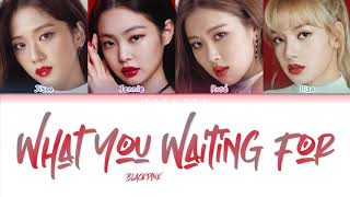 How Would BLACKPINK Sing 'WHAT YOU WAITING FOR' by ANDA Lyrics (Han/Rom/Eng) (FANMADE)