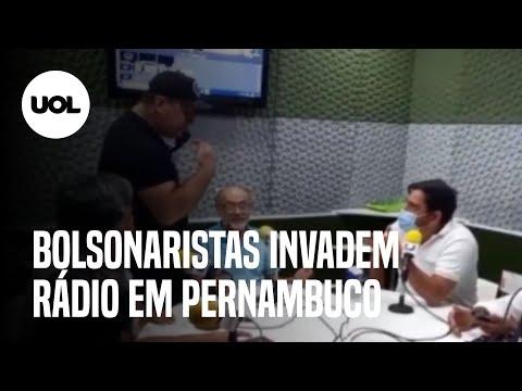 Bolsonaristas invadem rádio para ameaçar locutores ao vivo