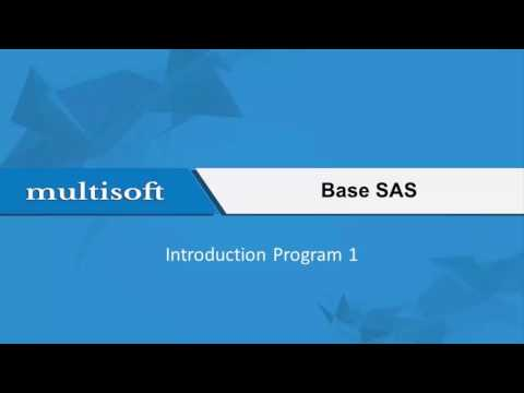 Learn About the Objectives of SAS Base Online Training