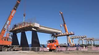 """Строительство автодороги """"Обход Хабаровска"""" идет по графику"""