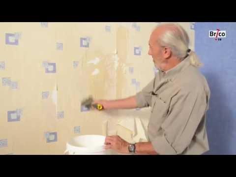 Décoller du papier peint - Bricolage avec Robert comment décoller du papier peint ? - 0 - Comment décoller du papier peint ?