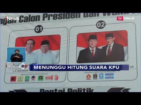 Menunggu Hasil Hitung Suara di KPUD Medan, Makassar dan Jabar - iNews Siang 18/04