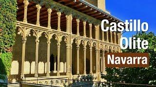 preview picture of video 'Castillo de Olite Navarra. Primera maravilla medieval de España (Full HD)'