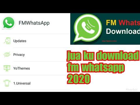 Jinsi ya kudownload FMWhatsapp ambayo ni zaidi ya Gbwhatsapp 2019