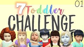 Disney Princess's Seven Toddler Challenge | Creating the Princesses [1] | Mousie