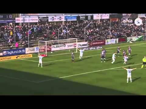 Gol - João Pereira - 09.04.2016 - SonderjyskE 2 x 2 Aarhus - Danish Superliga