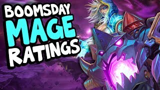 BOOMSDAY MAGE CARD RATINGS | The Boomsday Project | Hearthstone