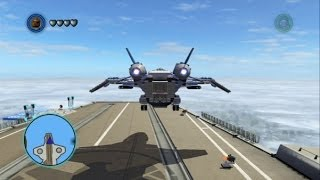 LEGO Marvel Super Heroes - Flying the Quinjet (Vehicle Showcase)