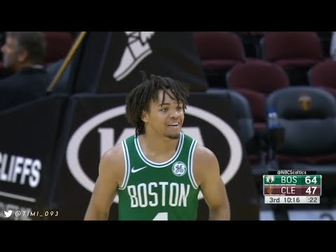 Carsen Edwards Preseason Highlights vs Cleveland Cavaliers (30 points, 8 x 3PM in a quarter!)
