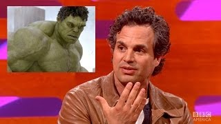 MARK RUFFALO Gets Hulk Role In The Avengers  By Mistake The Graham Norton Show On BBC AMERICA