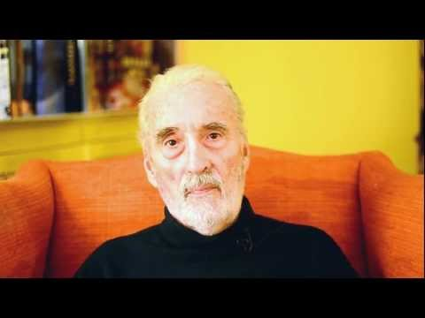 Christopher Lee - Singer/Actor (Lord of the Rings, The Hobbit, Charlie and Chocolate factory, Dracula, Star Wars, 280+ movies)