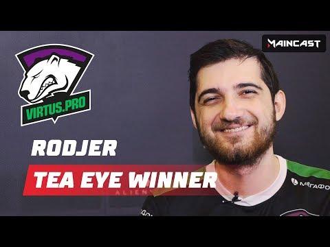 Tea Eye Winner: RodjER