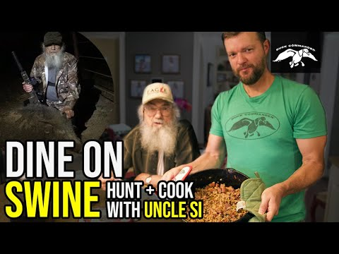 Dine on Swine | Uncle Si's Hunt and Cook – Jambalaya Recipe
