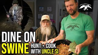 DINE On SWINE | Uncle Sis HUNT And COOK - Jambalaya Recipe