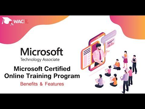 Microsoft (MTA) Certified Online Training Program | Feature ...