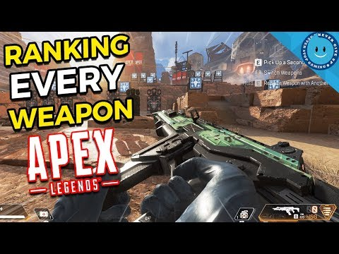 Ranking And Explaining Every Weapon In Apex Legends!