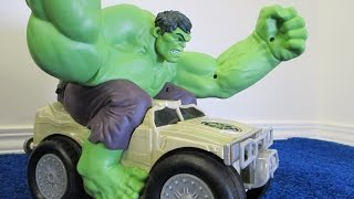 Hulk Smash Remote Control By Jakks Pacific Review By Race Grooves