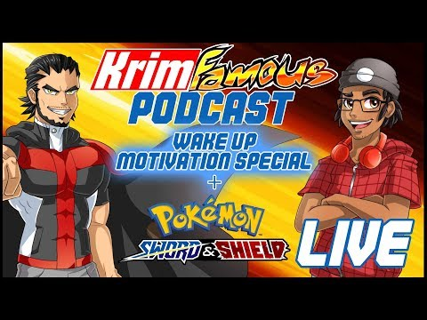 The Krimfamous Podcast LIVE: Wake up Motivation Special + SWSH NEWS- w/ Korrosion & Infamous