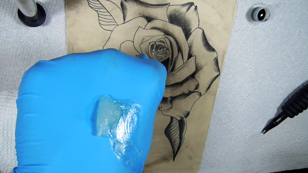 tattoo rose shading techniques by batel skater