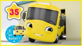 Buster and the Carwash - Go Buster | Little Baby Bus | Nursery Rhymes | Kids Stories | ABCs and 123s